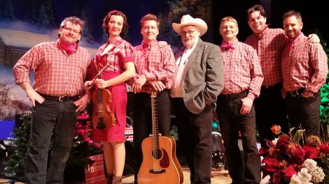 "Larry Schuba, Western Union""Blue Ridge Mountain Christmas-Show""; Foto: Larry Schuba"