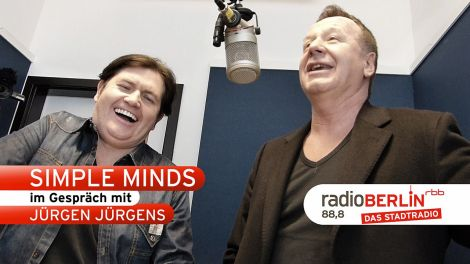 Video-Interview mit den Simple Minds