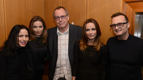 Die irische band The Corrs im radioBERLIN-Studio (Foto: radioBERLIN 88,8/André Noll)
