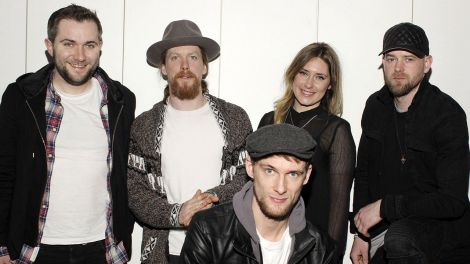 Gruppenfoto der Band 'Walking On Cars' (Foto: imago/Future Image)