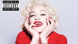 CD Cover Ausschnitt Madonna Rebel Heart