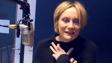 Patricia Kaas im Interview; Screenshot: radioBERLIN 88,8/Jürgen Jürgens