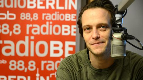 August Diehl; Foto: radioBERLIN/Peter Rauh
