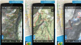 App Locus Map free; Screenshot
